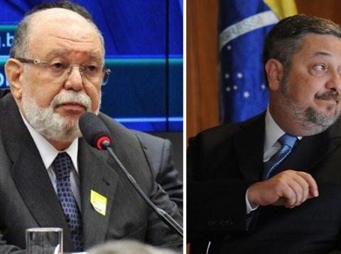 Os casos mais recentes são o do empresário Léo Pinheiro (E), da OAS, e o do ex-ministro Antonio Palocci (Fotos: Reprodução)