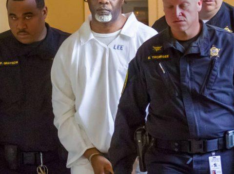 Ledell Lee é levado para ser executado na prisão Cummins Unit. (Foto: Reprodução)