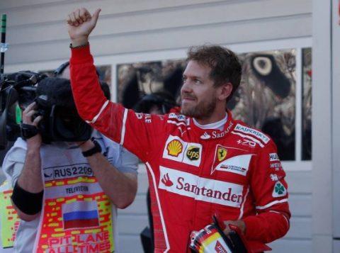 Pole position no GP da Rússia será a 47ª da carreira de Sebastian Vettel. (Foto: Reuters)