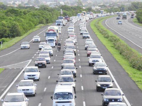 A Concepa espera que mais de 110 mil veículos se desloquem pela Free Way no feriadão (Foto: Reprodução)