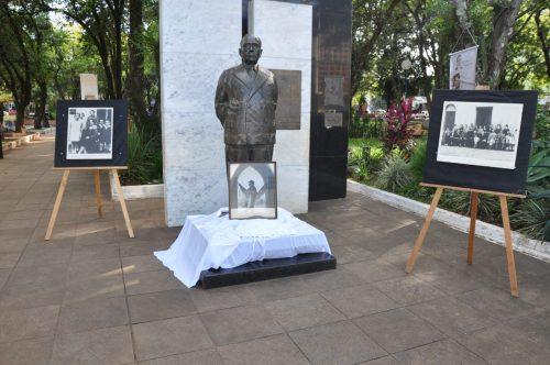 Aniversário de Getúlio Vargas também é lembrado em São Borja (Foto: Divulgação/PMSB)