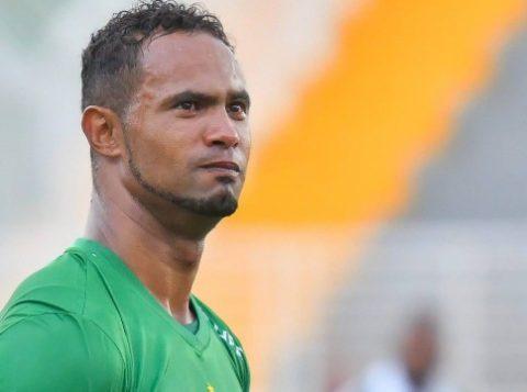 O goleiro Bruno Fernandes, em sua estreia no Boa Esporte. (Foto: Reprodução)