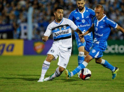 Jogo terminou empatado por 1 a 1 (Foto: Lucas Uebel/Grêmio)