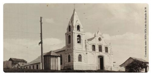A edificação da Capela de São Domingos foi iniciada em 1820 e inaugurada em 24 de outubro de 1824 (Foto: Divulgação)