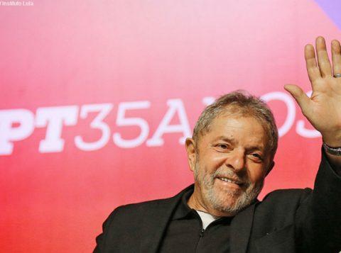 O ex-presidente diz que não cometeu nenhum crime. (Foto: Ricardo Stuckert/Instituto Lula)