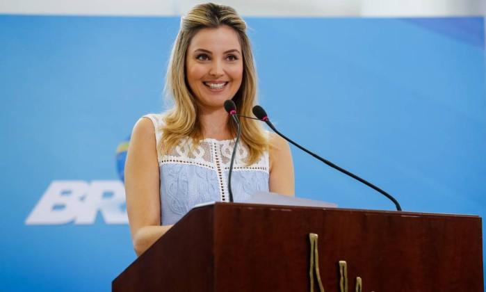 Marcela Temer estará presente no lançamento do Programa Criança Feliz, no Palácio Piratini. (Foto: Reprodução)