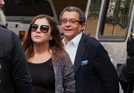 Mônica Moura e João Santana depuseram hoje ao TSE (Foto: Reprodução)