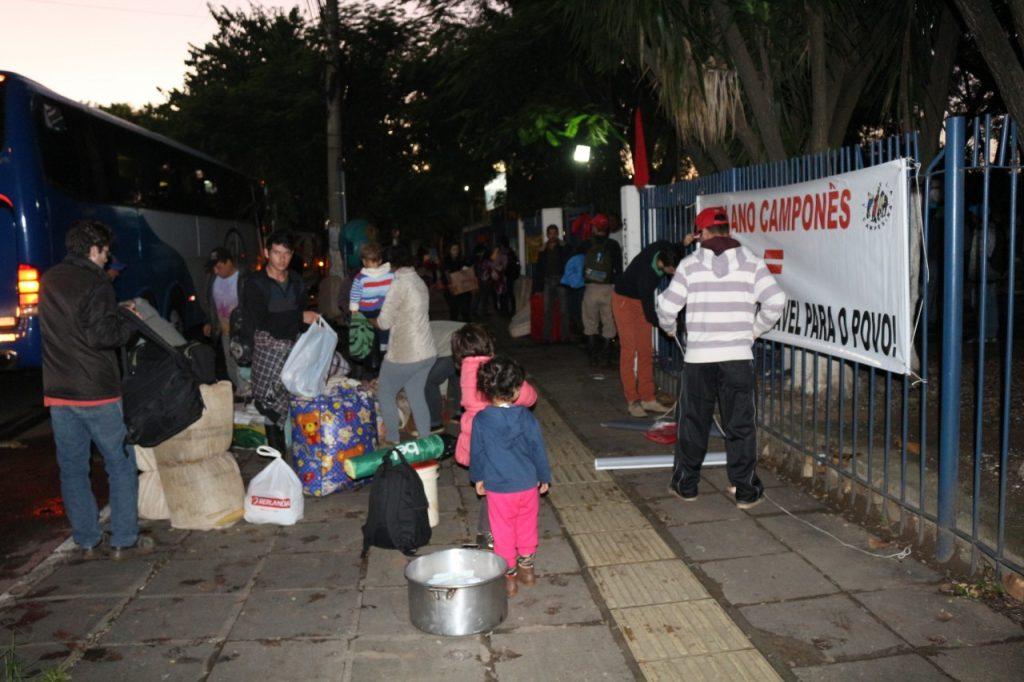 Cerca de 2 mil pessoas participam das ocupações (Foto: Catiana de Medeiros/Divulgação)