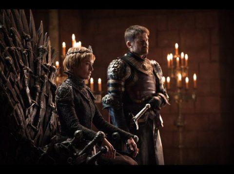 Lena Headey como Cersei Lannister e Nikolaj Coster-Waldau como Jaime Lannister (Photo: Helen Sloan/HBO/Divulgação)