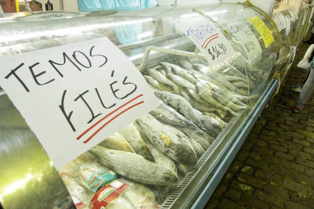 Foram vendidas 407 toneladas de pescado durante a semana (Foto: Brayan Martins/PMPA)