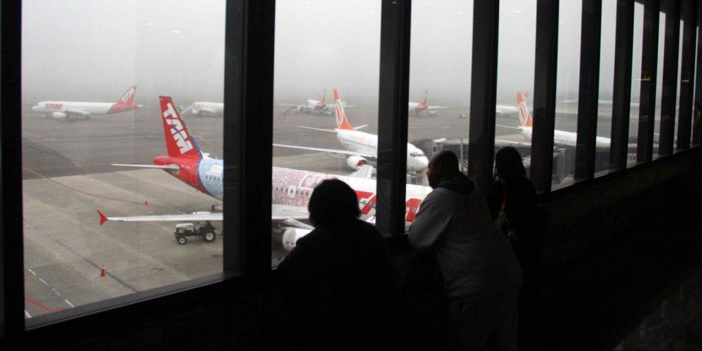 Os passageiros afetados podem solicitar a remarcação do voo ou o reembolso da passagem, de acordo com as companhias aéreas (Foto: Banco de Dados/O Sul)