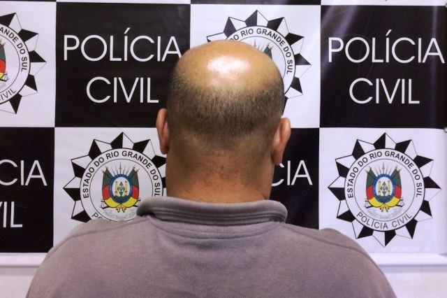 Criminoso foi capturado na Zona Norte da Capital (Foto: Polícia Civil/Divulgação)