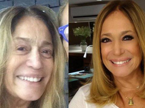 Atriz postou foto sem maquiagem em rede social (Foto: Reprodução)