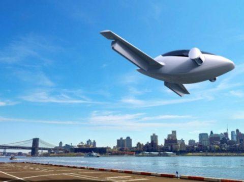Carro voador alemão terá espaço para cinco pessoas. (Foto: Reprodução)