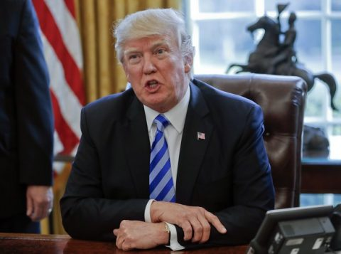 Trump tem os índices mais elevados de rejeição, segundo a CNN (Foto: Reprodução)