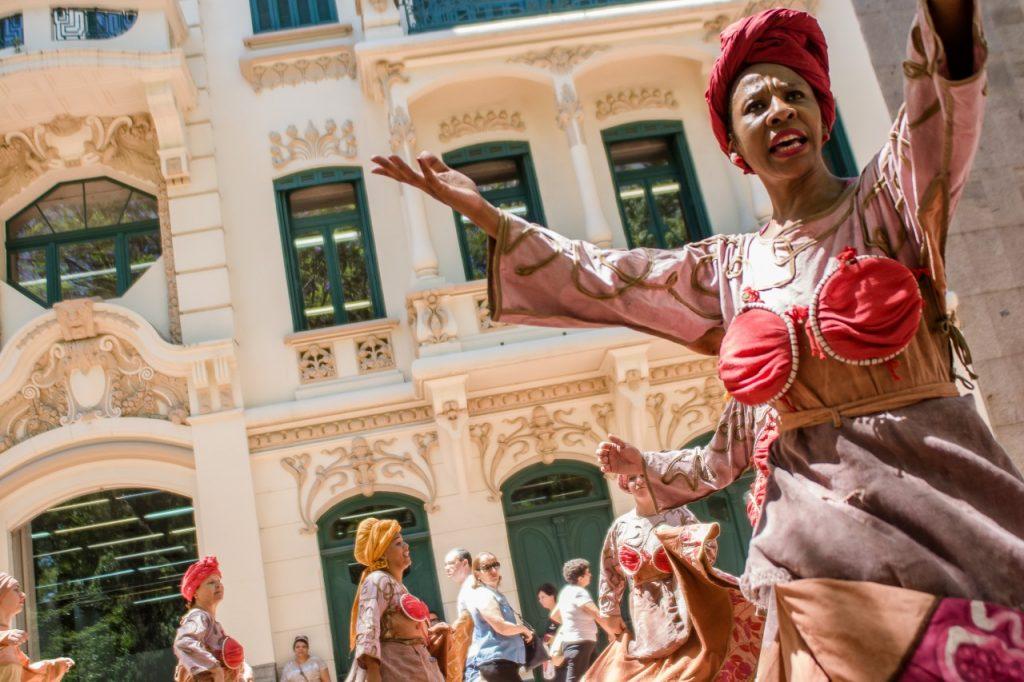 A Dança do Tempo (Foto: Fabio Zambom)
