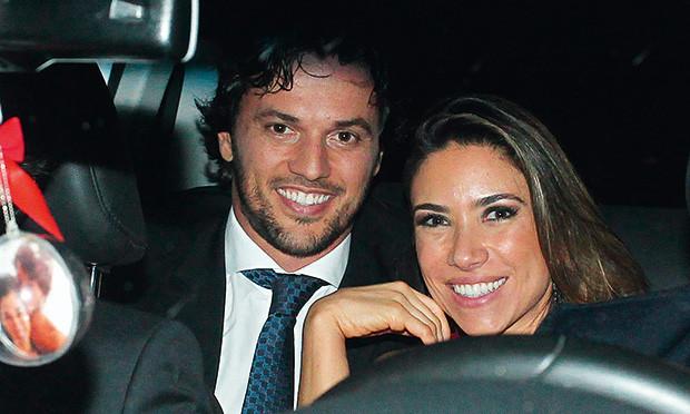 Resultado de imagem para Deputado Fábio Faria e a mulher, Patrícia Abravanel,