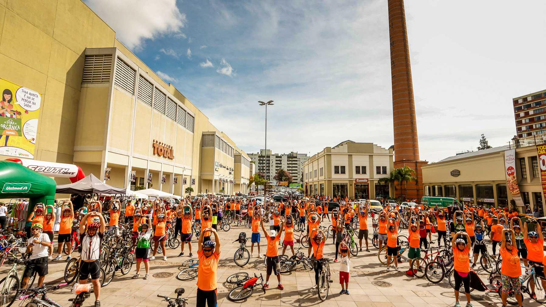 Shopping TOTAL promove Pedal das Chaminés em comemoração ao aniversário de Porto  Alegre 75aa8c5be5