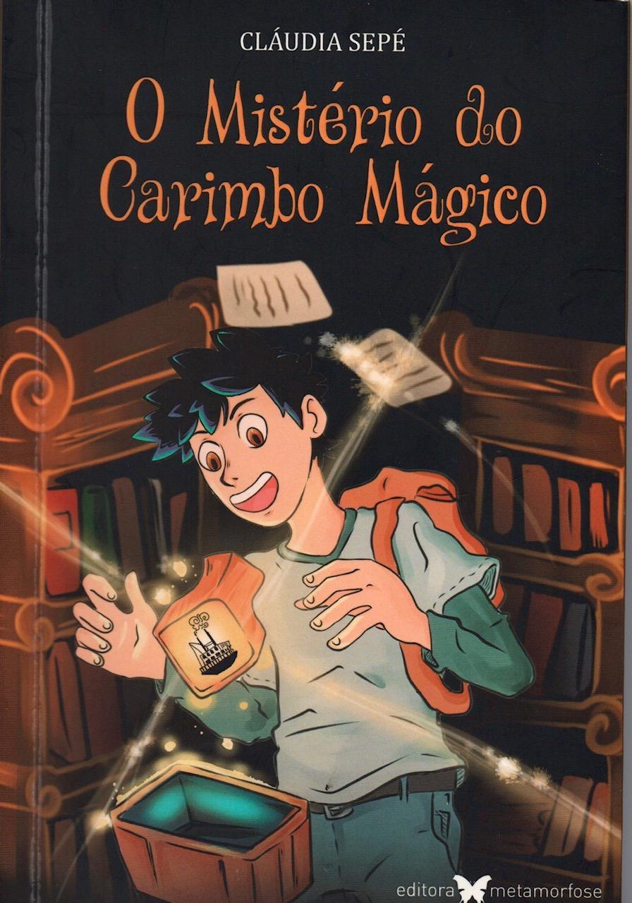 """Livro """"O mistério do Carimbo Mágico"""" será lançado nesta segunda-feira (23)  a partir das 19h b60e5c31746"""