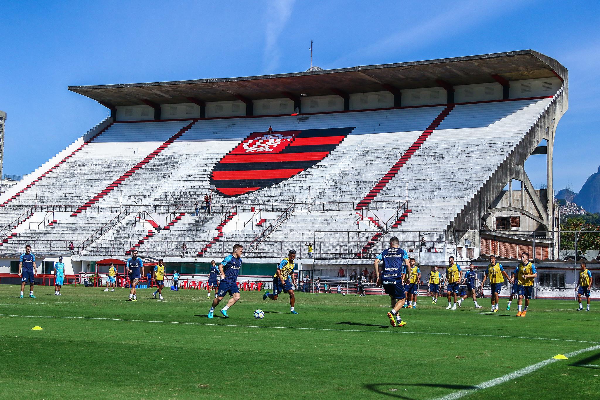 O Grêmio encerrou os preparativos para o duelo diante do Vasco da Gama  neste domingo 7e732c1a37d