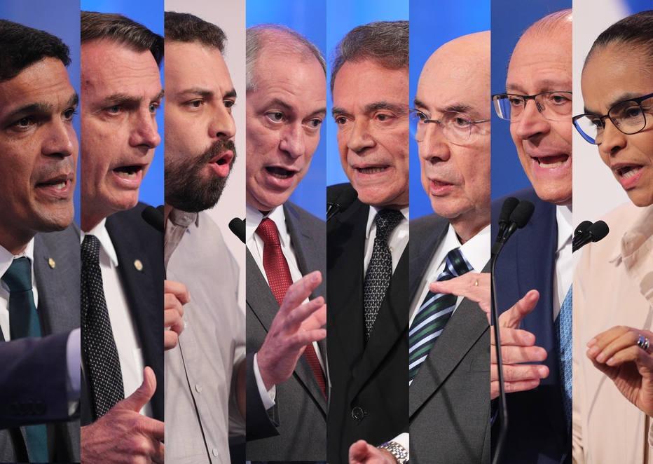 Resultado de imagem para candidatos presidente segundo turno