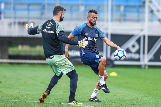 O Grêmio se reapresentou e iniciou a preparação para enfrentar o Fluminense  pelo Brasileirão f726e3c8d0695