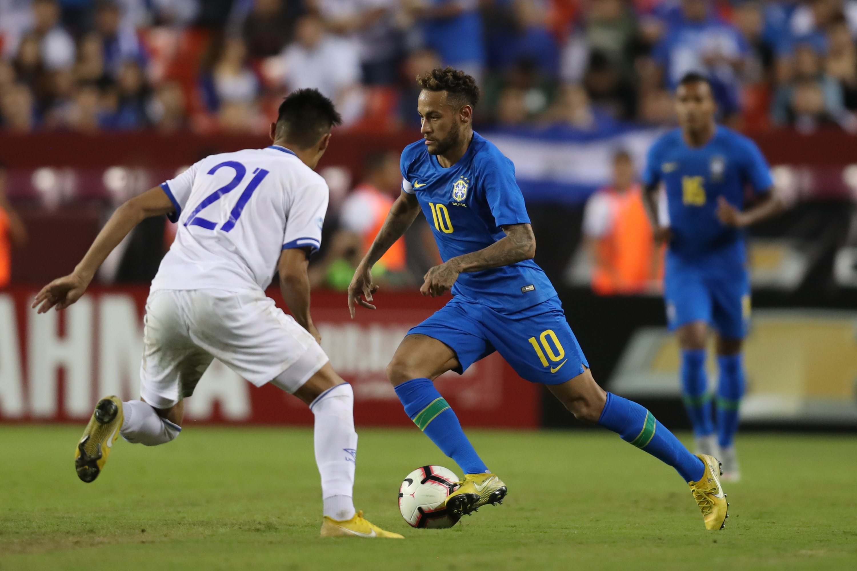 11-9-2018 - Amistoso El Salvador 0 Brasil 5. Neymar-1