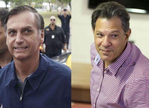 A nova pesquisa do Datafolha mostra que Bolsonaro caiu para 56% dos votos  válidos f08cf07af5407