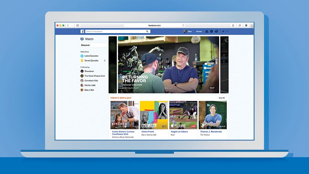 355f381798b25 O Facebook se arma para a guerra contra o YouTube lançando uma ...