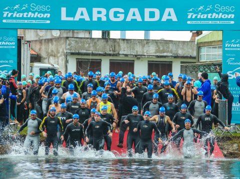 Vem aí o SESC Triathlon 2019. Competição acontece em Tramandaí, dia 24 de novembro. Inscrições estão abertas