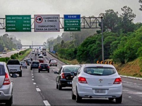 Freeway terá novo desvio de tráfego em Glorinha nesta terça-feira