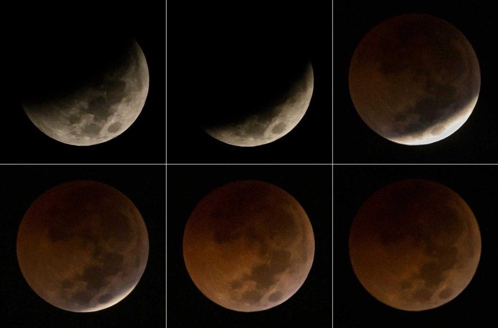 """e6817d216 Madrugada deste domingo para esta segunda tem Eclipse com """"superlua"""";  fenômeno será visível em todo o Brasil"""