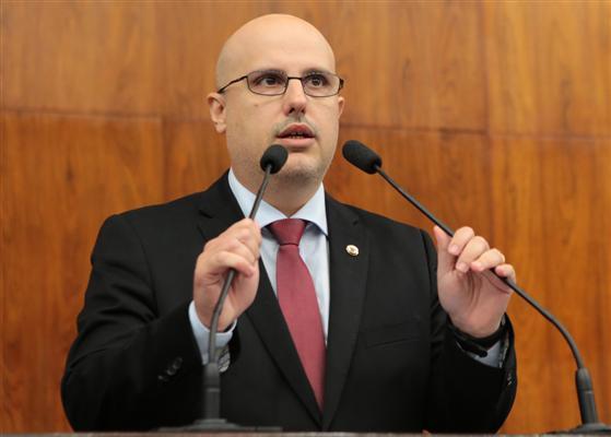 Deputado Rodrigo Lorenzoni reafirmou posições do partido. Foto Michael Paz/Divulgação