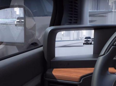 Novo carro elétrico da Honda substitui espelhos retrovisores por câmeras no painel
