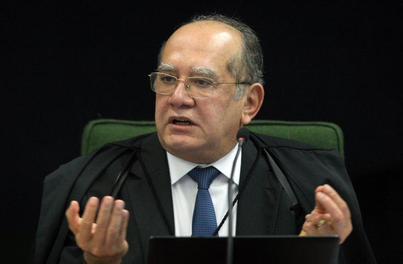 O ministro do Supremo Gilmar Mendes troca prisão de doleiro foragido de operação por fiança de 5 milhões de reais