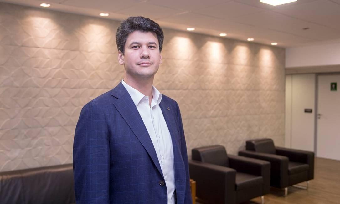 O novo presidente do BNDES, Gustavo Montezano. (Foto: Reprodução /Hoana Gonçalves)