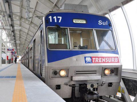 Trensurb está paralisado devido a um problema na sinalização