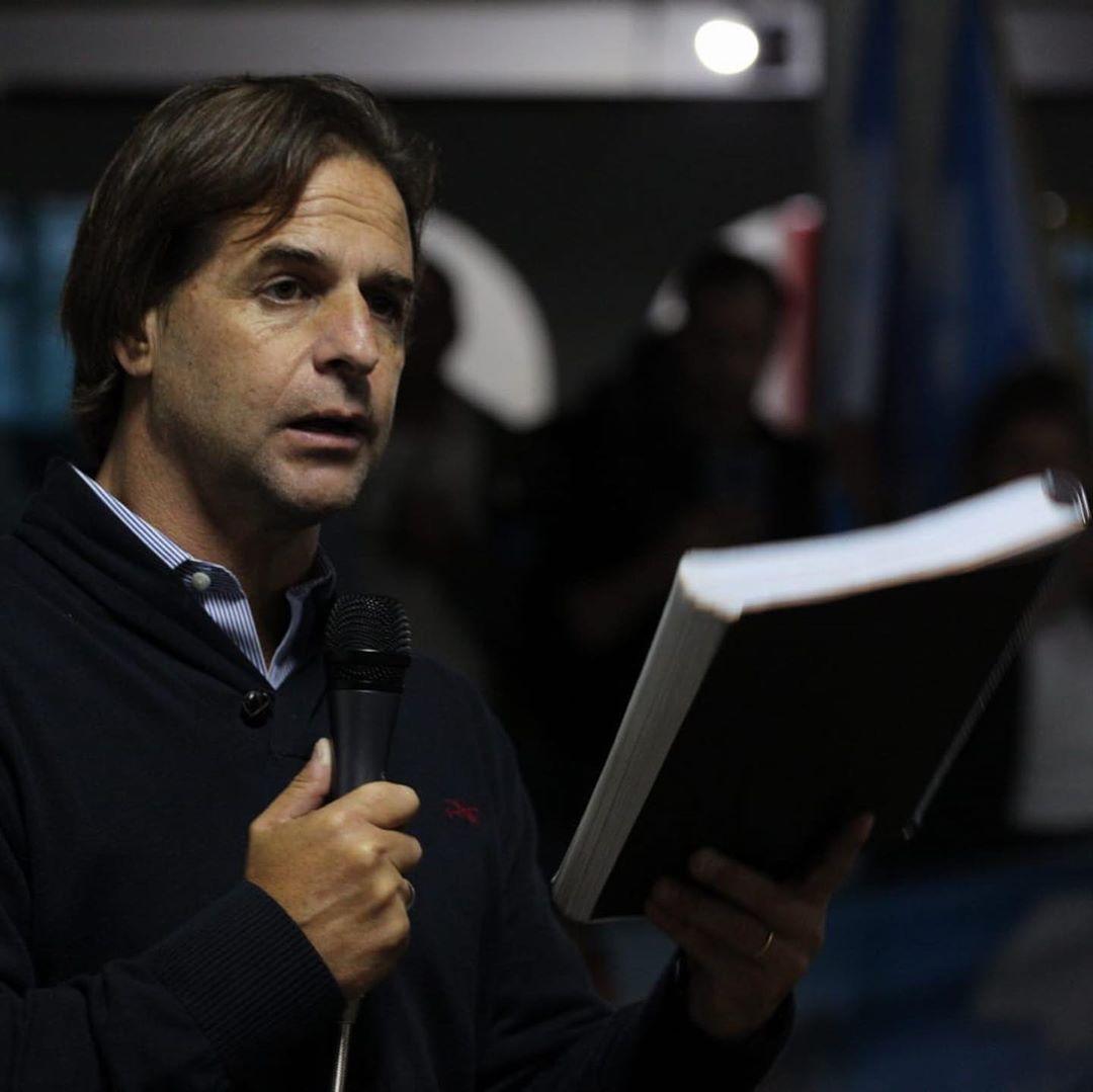 O senador do opositor Partido Nacional, Luis Lacalle Pou. (Foto: Reprodução)