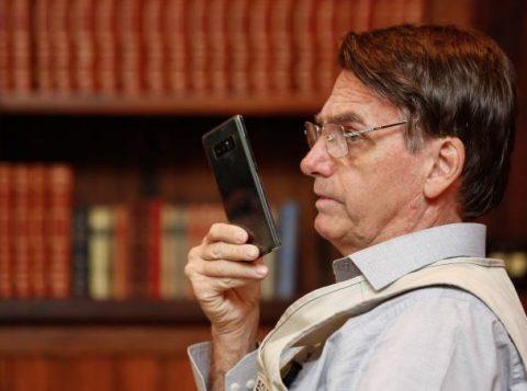 """Bolsonaro diz que possível grampo de áudio sobre o PSL é """"desonestidade"""""""