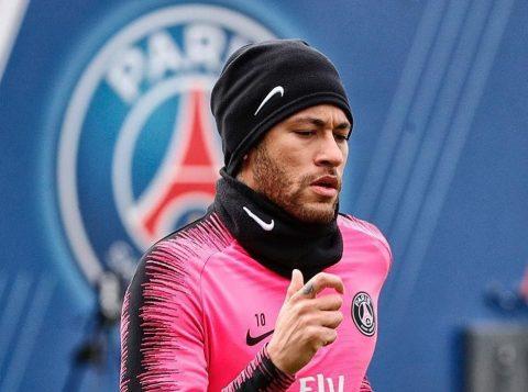 Neymar disse que o amor da torcida do Paris Saint-Germain por ele está voltando
