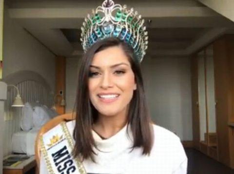Enfermeira capixaba vence Miss Brasil Mundo 2019