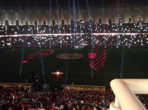 É final! Estádio Beira-Rio se transforma em um verdadeiro espetáculo antes da partida