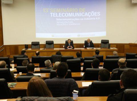 Seminário de Telecomunicações aborda tendências e soluções para Indústria 4.0