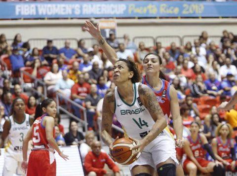 Seleção brasileira feminina de basquete fatura o bronze na Copa América, primeiro passo para conseguir uma vaga na Olimpíada de Tóquio em 2020