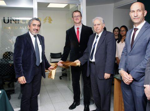 Unicred Porto Alegre e AMHED inauguram sala de negócios no Hospital Ernesto Dornelles