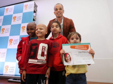 D'Alessandro é intitulado embaixador do Instituto do Câncer Infantil