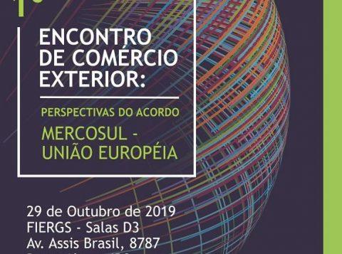 Farsul promove o 1º Encontro de Comércio Exterior, nesta terça-feira (29), na FIERGS