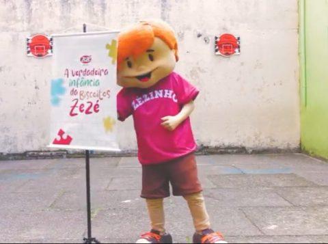 Dia das Crianças  é destaque em vídeo da Biscoitos Zezé, aproximando o público da marca