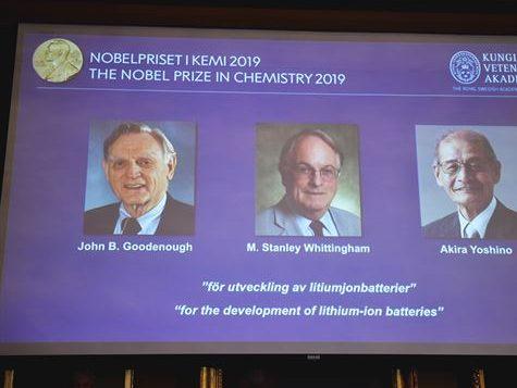 Prêmio Nobel de Química premia o desenvolvimento de baterias que carregam mais rápido. Baterias de íons de lítio revolucionaram a tecnologia de celulares a carros elétricos