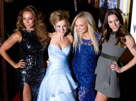 O grupo Spice Girls cancelou parte da turnê após briga